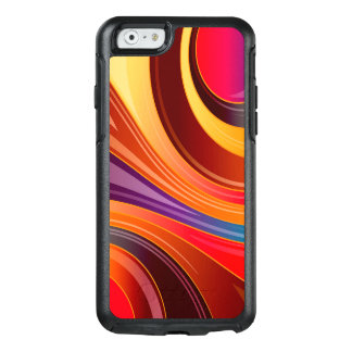 Abstract Background Multi Color Whirl OtterBox iPhone 6/6s Case