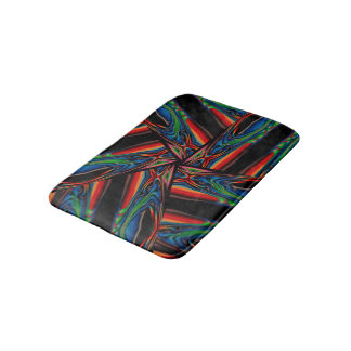 Abstract Background Multicolorwined Interwined Bath Mat