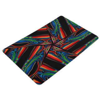 Abstract Background Multicolorwined Interwined Floor Mat