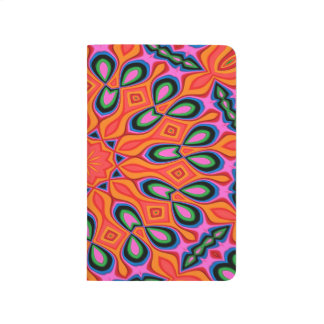 Abstract Background Organe Red And Blue Journal