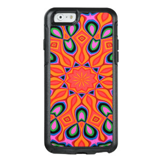 Abstract Background Organe Red And Blue OtterBox iPhone 6/6s Case