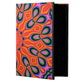 Abstract Background Organe Red And Blue Powis iPad Air 2 Case