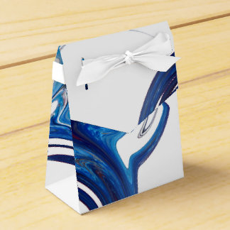 abstract background party favour box
