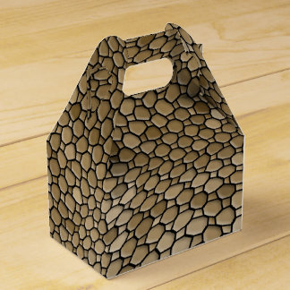 abstract background party favour boxes