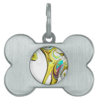 abstract background pet ID tags