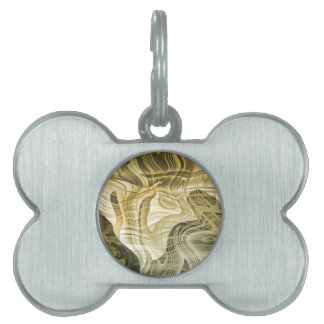 abstract background pet tag
