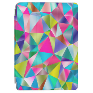 Abstract Background Purple And Colorful iPad Air Cover