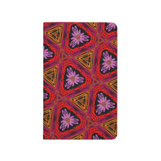 Abstract Background Purple Red And Brown Journal