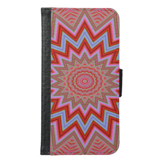 Abstract Background Samsung Galaxy S6 Wallet Case