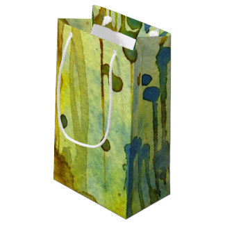 abstract background small gift bag