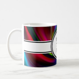 Abstract Background Spirals soft I + your text Mug