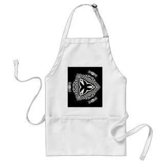 abstract background standard apron