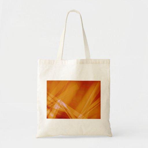 Abstract-Background sunshine ORANGE DIGITAL RANDOM Tote Bags