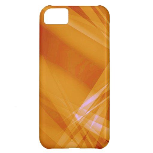 Abstract-Background sunshine ORANGE DIGITAL RANDOM iPhone 5C Cover