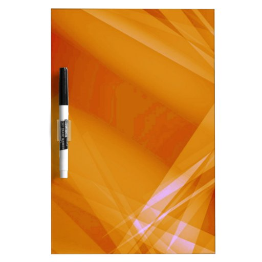 Abstract-Background sunshine ORANGE DIGITAL RANDOM Dry-Erase Board