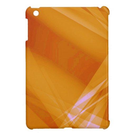 Abstract-Background sunshine ORANGE DIGITAL RANDOM iPad Mini Case