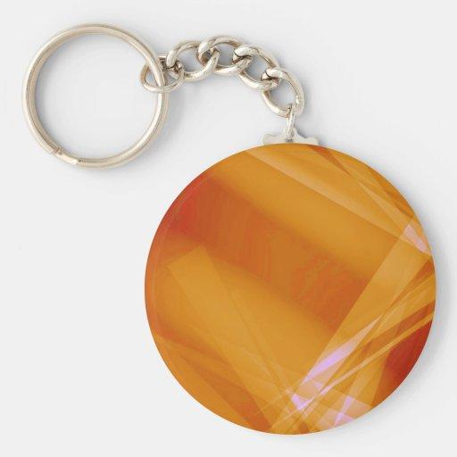 Abstract-Background sunshine ORANGE DIGITAL RANDOM Key Chains