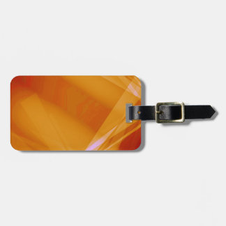 Abstract-Background sunshine ORANGE DIGITAL RANDOM Tags For Luggage