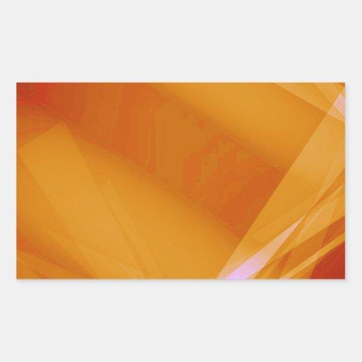 Abstract-Background sunshine ORANGE DIGITAL RANDOM Stickers