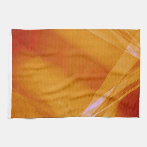 Abstract-Background sunshine ORANGE DIGITAL RANDOM Towel