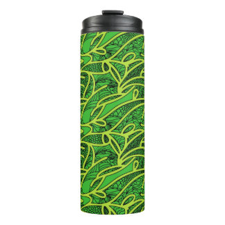Abstract Background Thermal Tumbler