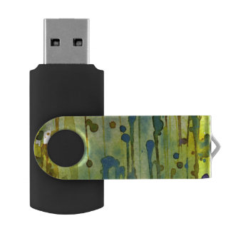 abstract background USB flash drive
