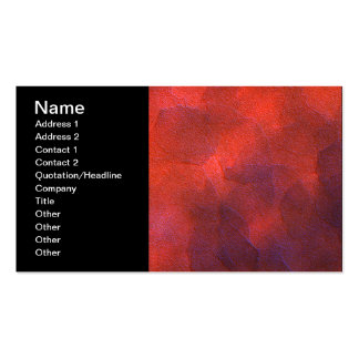 Abstract Background Vivid Orange and Cobalt Blue Business Cards