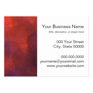 Abstract Background Vivid Orange and Cobalt Blue Pack Of Chubby Business Cards