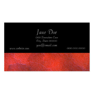 Abstract Background Vivid Orange and Cobalt Blue Pack Of Standard Business Cards