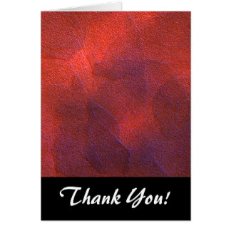Abstract Background Vivid Orange and Cobalt Blue Note Card
