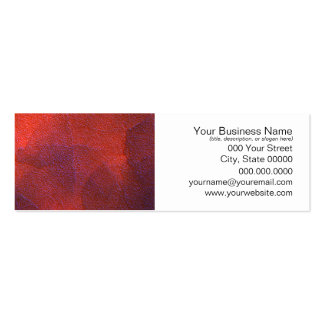 Abstract Background Vivid Orange and Cobalt Blue Pack Of Skinny Business Cards