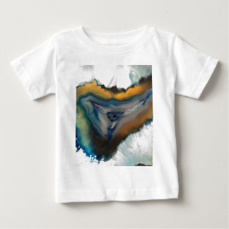 abstract background with mineral stones baby T-Shirt