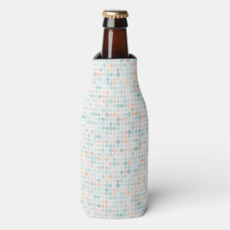 Abstract background with mixed small spots bottle cooler