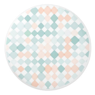 Abstract background with mixed small spots ceramic knob