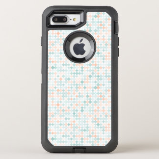 Abstract background with mixed small spots OtterBox defender iPhone 8 plus/7 plus case