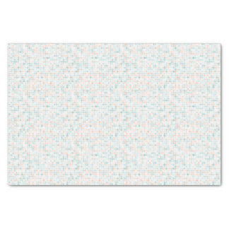 Abstract background with mixed small spots tissue paper