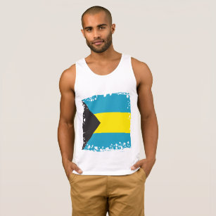 Abstract Bahamas Flag, Bahamian Colours, t-shirt