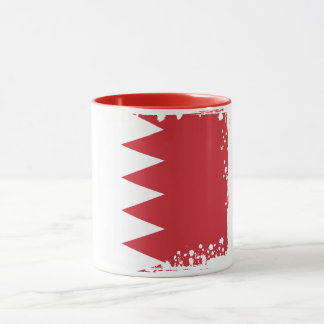 Abstract Bahrain Flag Mug