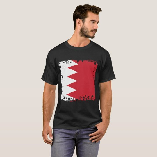 Abstract Bahrain Flag t-shirt