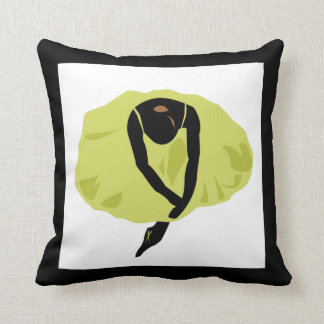 Abstract Ballerina Pillow
