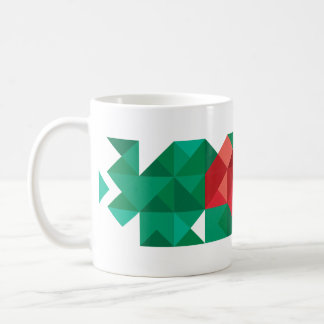 Abstract Bangladesh Flag, Bangladech Colors Mug