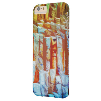 Abstract Barely There iPhone 6 Plus Case