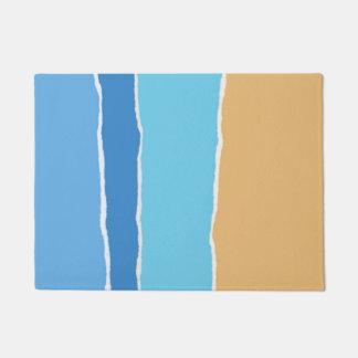 Abstract beach, sea and sky doormat