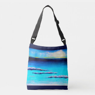 Abstract Beach Tote