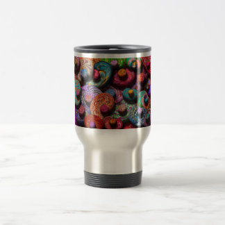 Abstract - Beans Coffee Mugs