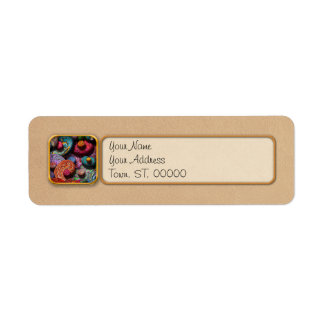 Abstract - Beans Return Address Label