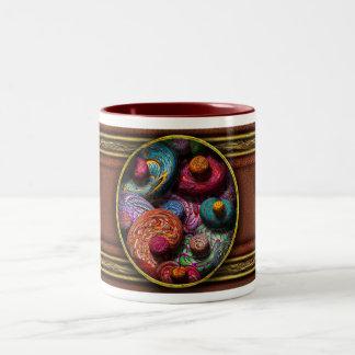 Abstract - Beans Two-Tone Mug