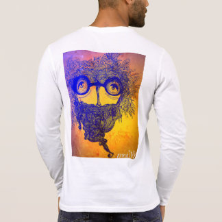 Abstract Beard Apparel T-Shirt