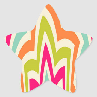 Abstract Beauty Star Sticker