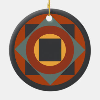 Abstract Belgian Design Christmas Ornament